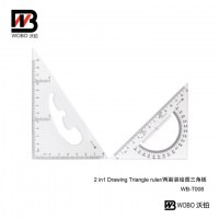 2 PC drawing triangular ruler